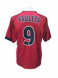 Maillot foot football shirt vintage PSG Paris 2004-2005 AWAY #9 PAULETA