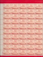 KANSAS TERRITORIAL CENTENNIAL Sheet of 50 Stamps (Scott's # 1061) From 1954