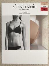 Calvin Klein Underwear T-Shirt Bra Sexy Shaping Demi Cup 2-Pack 36B 36C 38B 38C