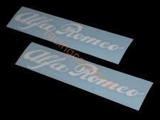 "12"" 305mm alfa romeo script Decal Sticker gta gtv 147 155 156 159 giulietta 1300"