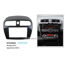 2Din Car Radio Fascia Dash Trim kit for Mitsubishi Mirage 2012+/Space star 2013+