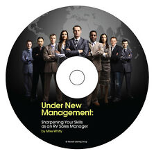 RV Sales Training - RV Sales Manager eBook on CD