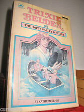 TRIXIE BELDEN #9 The Happy Valley Mystery pb 1985 SQUARE EDITION Kathryn Kenny