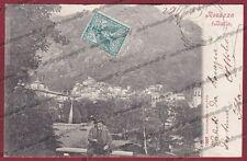 BIELLA ROSAZZA 25 Cartolina viaggiata 1903