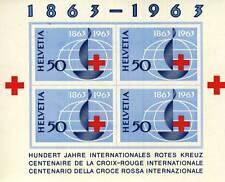 TIMBRE BLOC SUISSE NEUF N° 19 **  CENTENAIRE DE LA CROIX ROUGE