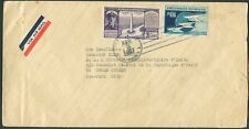 DOMINICAN REPUBLIC TO USA Consular Air Mail Cover 1937 VF