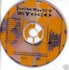 BUCKWHEAT ZYDECO Cry to Me RARE 1 TRK PROMO CD Single