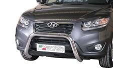 "Hyundai Santa Fe 2010-2012 Ø76 BULL BAR NUDGE BAR LEGAL""CE APPROVED"" Frontbügel"
