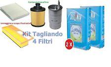KIT FILTRI TAGLIANDO FIAT NUOVA PANDA 1.2 1.4 NATURAL POWER METANO + SELENIA GAS