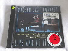 CD MODERN JAZZ QUARTET - LIVE AND AT ITS BEST