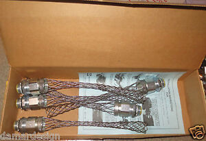 """BRAND NEW from Sealed Box HUBBELL KELLEMS H075CNK 3/4"""" Liquidtight Conduit Grips"""