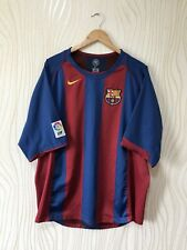 BARCELONA 2005 2006 HOME FOOTBALL SHIRT SOCCER JERSEY NIKE VINTAGE