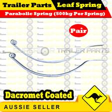 Superior Parabolic Trailer Spring (1000kg rating) Dacromet Coated x 1 pair