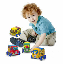 Melissa and Doug  PULL - BACK CONSTRUCTION VEHICLES BABY AND TODDLER TOY