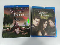 VAMPIRE DIARIES LOVE SUCKS TEMPORADA 1 - 4 X BLU-RAY ESPAÑOL Ingles Frances - AM