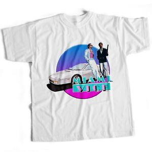 Miami Vice Crime TV Series Cult Horror Sci Fi Horror Retro Mens T Shirt