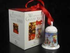 2000 - Thule Hutschenreuther Weihnachtsartikel Weihnachtsglocken mit OVP