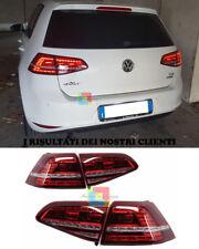 VW GOLF 7 VII DAL 2012 IN POI FARI POSTERIORI FRECCIA LED DESIGN GTI .-