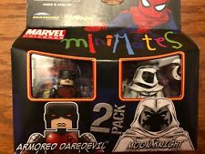 Marvel Minimates Armored Daredevil and Moon Knight 2 Pack
