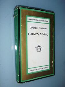 GEORGES SIMENON - L'OTTAVO GIORNO - PRIMA EDIZIONE MEDUSA MONDADORI 1966