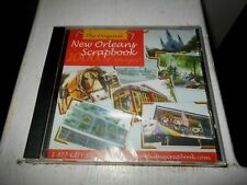 The Original New Orleans Scrapbook 2004 New Sealed CD-ROM 1000's Of Images