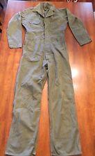Vintage Mechanics Coveralls / Military Jumpsuit / Est. size: 42 - 44 / Pre-Owned