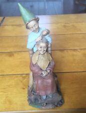 Shear Delight 1992~Tom Clark Gnome-Figurine~Cairn Studio Retired~Ed #56