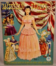 1951 American Beauty Paper Doll Book - Uncut Merrill - 8 Pages of Clothes