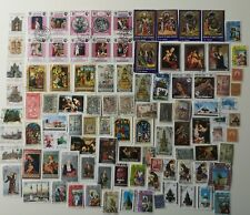 More details for 300 different religions/religious scenes/relics stamps collection
