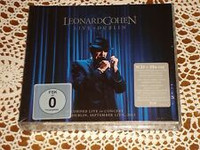 LEONARD COHEN Live in Dublin feat Hallelujah SONY MUSIC 3CD + Blu-Ray NEW SEALED