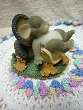 """Fitz & Floyd Charming Tales Figurine, """"Nuts About Naps,"""" 85/503"""