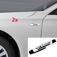 2x OEM Chrome TEXAS Edition Emblems BADGE For GM Chevrolet SIERRA Silverado 2UW