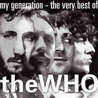 THE WHO ~ My Generation: Very Best Of ~ 1996 UK Polydor label 20-track CD album