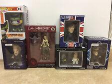 Lot of 6 Nerd Block Exclusive Figures Pop Titans Alien, Doctor Who, Buffy, etc