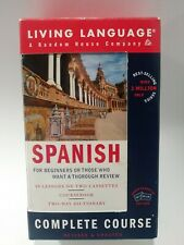 Living Language Spanish Complete Course For Beginners-Cassette Edition