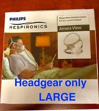 NEW PHILIPS Respironics Amara View Headgear Size Large 1090696