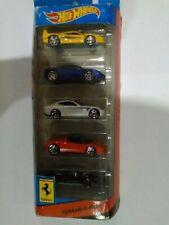 Hot Wheels Ferrari 5 Pack Race With Enzo Ferrari Rare