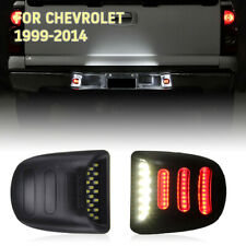 LED License Plate Light Lamp RED OLED Neon Tube Silverado Avalanche 99-13 Chevy