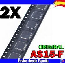 2x Circuitos integrados AS15F AS15-F QFP-48 Original IC