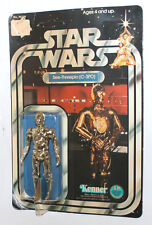 1978 Kenner Star Wars C-3PO 12 Back Carded 12bk Protocol Droid