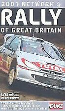 Rally Of Great Britain 2001 (VHS, 2001) WRC WORLD RALLY CHAMPIONSHIP