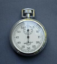 1970s Zlatoust Mechanical Stopwatch 0.2s Russia Chronometer FOR PARTS or REPAIR