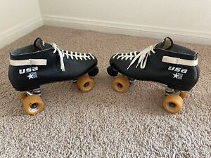 Riedell Vintage USA Roller Skates Scream Wheels - * See Notes * - Very Nice