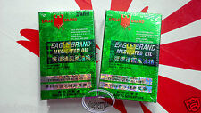 Eagle Brand Medicated Oil Pain Relief Dau Xanh Con O 24ml Ointments oils 2x care