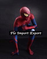 Spiderman 3D Costume Carnevale Animazione Uomo Dress up Cosplay Costume SPM005