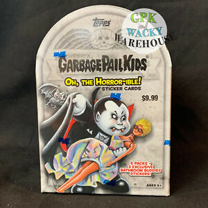 2018 GARBAGE PAIL KIDS S2 OH THE HORROR-IBLE 1 BLASTER BOX SKETCH PHELGM