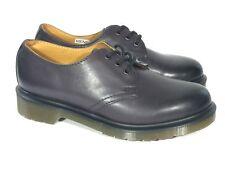 NWOB Dr Doc Martens 1461 Shoes Oxford US M5 W6 UK4 EUR 37 Black Leather