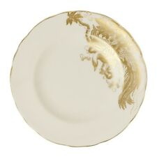 """New Royal Crown Derby 1st Quality Gold Aves Motif 6"""" Side Plate"""
