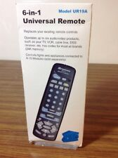 Radio Shack X10 6-in-1 Universal Remote Model UR19A - NOS!