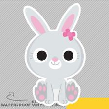 Funky Cute Rabbit For Kids Car Vinyl Sticker Decal Window Car Van Bike 2242